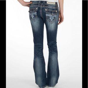 Rock Revival Jen Bootcut Jeans; Size 28
